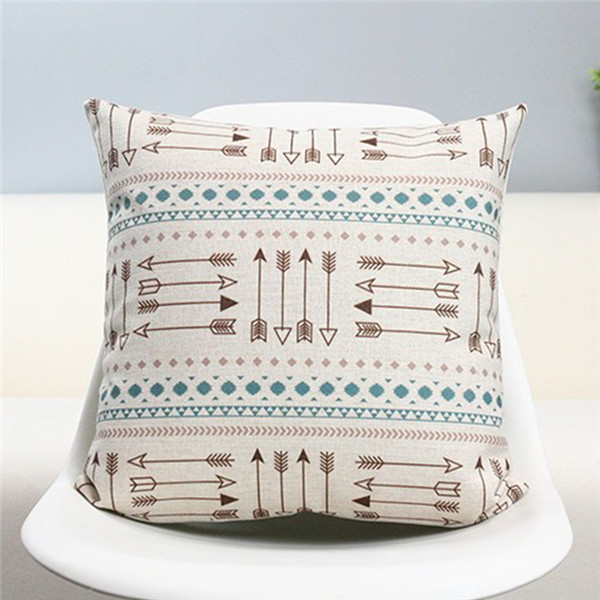 Cushion Cover Blue Mexicas Collection